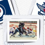 Canada Post Winnipeg Jets commemorative stamps