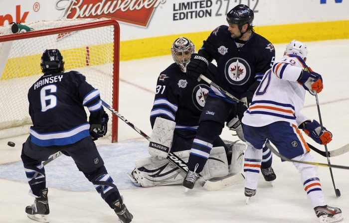 Even with six men on ice the Jets still could not take the Edmonton Oilers in the End. Re-thinking Trades?
